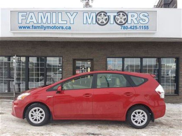 2012 Toyota Prius Auto Hybrid Loaded Burgundy Family
