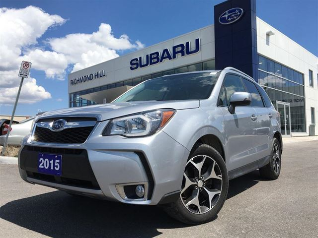 2015 subaru forester 2 0xt touring leather gps navigation local car silver subaru of. Black Bedroom Furniture Sets. Home Design Ideas