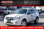 2012 Ford Escape XLT Bluetooth Cruise Power Group A/C Canadian 16 Alloys! in Thornhill, Ontario