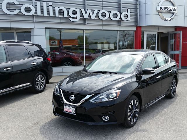 2016 nissan sentra sr premium new black collingwood. Black Bedroom Furniture Sets. Home Design Ideas
