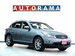 2009 Infiniti EX35 AWD NAVIGATION BACK UP CAM LEATHER SUNROOF in North York, Ontario