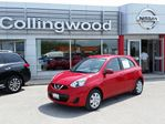 2016 Nissan Micra SV AT *NEW* GREAT VALUE in Collingwood, Ontario