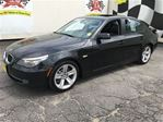 2009 BMW 5 Series 528i, Automatic, Navigation, Leather, Heated Seats in Burlington, Ontario