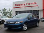 2012 Honda Civic Sedan LX at in Calgary, Alberta