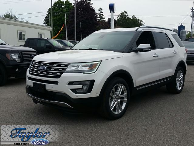 2016 ford explorer limited white taylor ford new car. Cars Review. Best American Auto & Cars Review
