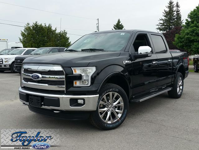 2016 ford f 150 lariat port perry ontario new car for sale. Black Bedroom Furniture Sets. Home Design Ideas