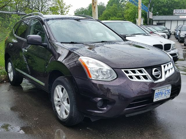 2012 nissan rogue sv brampton ontario used car for sale. Black Bedroom Furniture Sets. Home Design Ideas