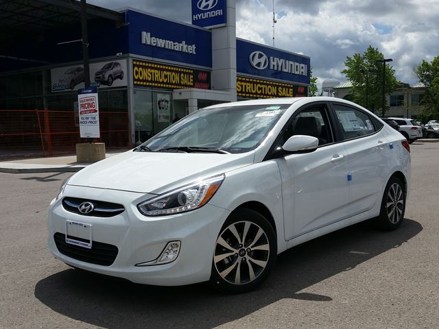 2016 hyundai accent newmarket ontario new car for sale 2491944. Black Bedroom Furniture Sets. Home Design Ideas