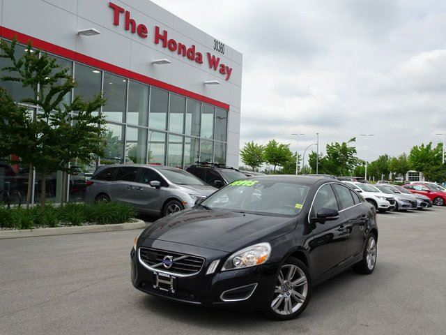 2012 VOLVO S60 T6 AWD in Abbotsford, British Columbia