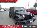 2014 Jeep Wrangler Unlimited Rubicon W/LEATHER INT, HEATED SEATS & NAVIGATION in Surrey, British Columbia