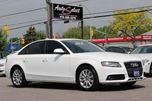 2012 Audi A4 AWD QUATTRO ONLY 77K! **CLEAN CARPROOF** LIGHTS PKG in Scarborough, Ontario