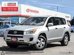 2012 Toyota RAV4 Base Competition Certified, One Owner, No Accidents, Toyota Serviced in London, Ontario