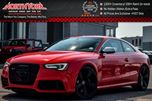 2013 Audi RS5 Quattro 450HP Drive Select MMI Nav Pkg Keyless Go Sunroof 20 Black Alloys! in Thornhill, Ontario