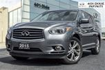 2015 Infiniti QX60 DLX Touring, Tech Package - DEMO SALE in Mississauga, Ontario