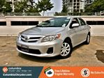 2013 Toyota Corolla SECURITY ALARM, CD PLAYER WITH USB/AUX INPUT, HEATED SEATS, FREE LIFETIME ENGINE WARRANTY! in Richmond, British Columbia