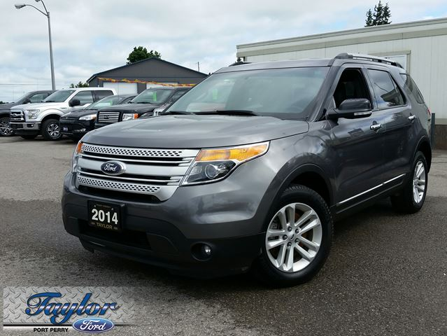2014 ford explorer xlt 4x4 leather nav trailer tow grey. Black Bedroom Furniture Sets. Home Design Ideas