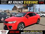 2013 Kia Forte Koup 2.4L SX LEATHER SUNROOF 125 KM in Hamilton, Ontario