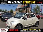 2012 Fiat 500 Lounge convertible 5 speed leather in Hamilton, Ontario