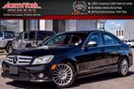 2009 Mercedes-Benz C-Class 2.5L 4Matic Sunroof Bluetooth SUPER LOW KMS MUST SEE! in Thornhill, Ontario