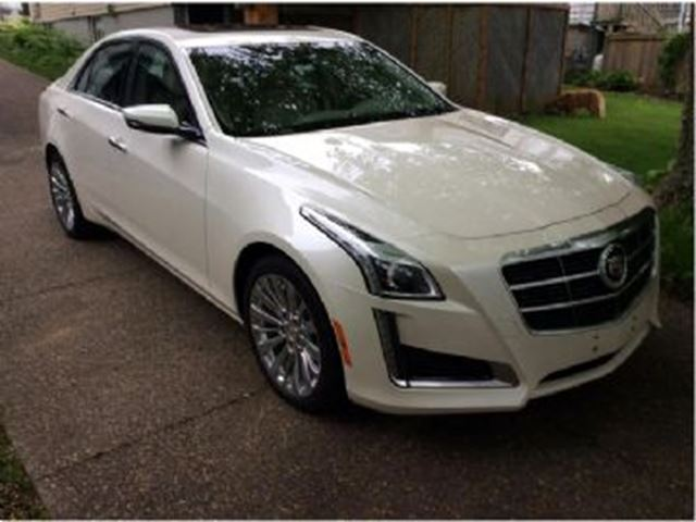 2014 cadillac cts sedan 3 6l luxury awd white lease busters wheels. Cars Review. Best American Auto & Cars Review
