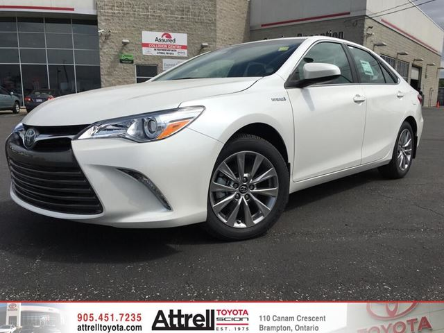 2016 toyota camry hybrid white blizzard pearl attrell toyota. Black Bedroom Furniture Sets. Home Design Ideas