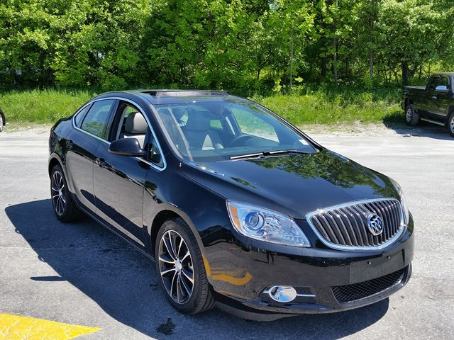 2016 buick verano sport touring midland ontario new car for sale 2498391. Black Bedroom Furniture Sets. Home Design Ideas