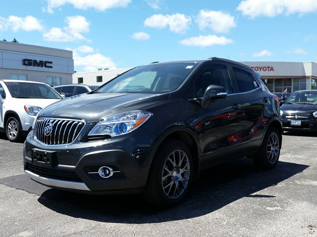 2016 buick encore sport touring midland ontario new car for sale 2498413. Black Bedroom Furniture Sets. Home Design Ideas