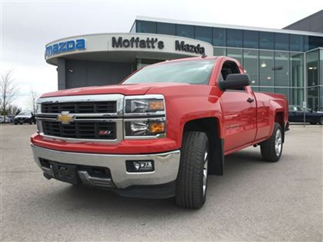 2014 chevrolet silverado 1500 lt w 1lt red moffatt 39 s mazda. Black Bedroom Furniture Sets. Home Design Ideas