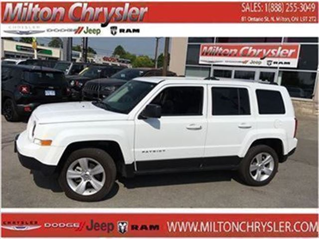 2015 Jeep Patriot Limited 4X4 Leather in Milton, Ontario