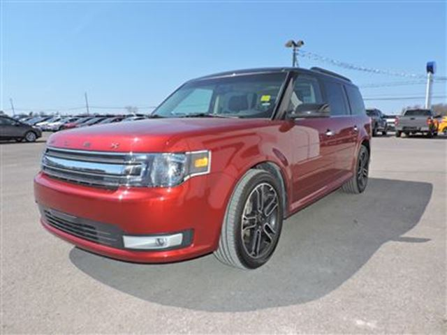 2015 ford flex sel ottawa ontario used car for sale 2499877. Black Bedroom Furniture Sets. Home Design Ideas