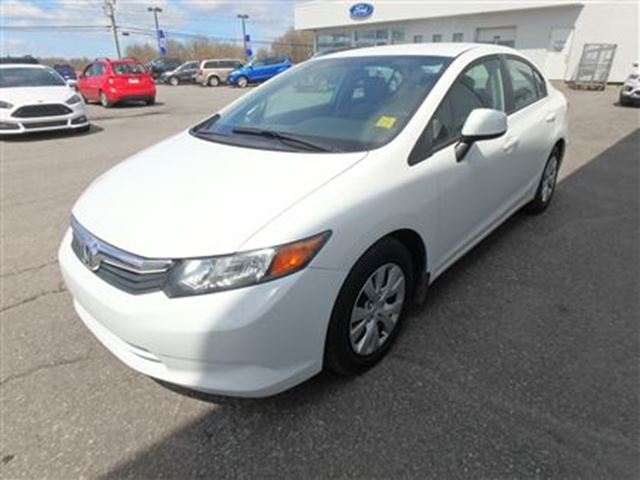 2012 honda civic lx a5 ottawa ontario used car for sale 2499919. Black Bedroom Furniture Sets. Home Design Ideas