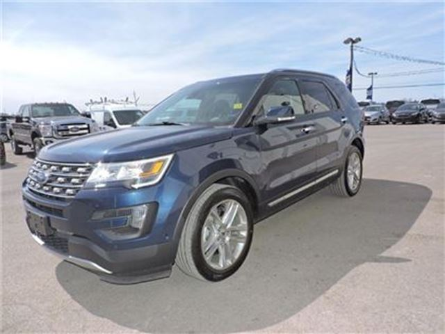2016 ford explorer limited ottawa ontario car for sale 2499923. Black Bedroom Furniture Sets. Home Design Ideas