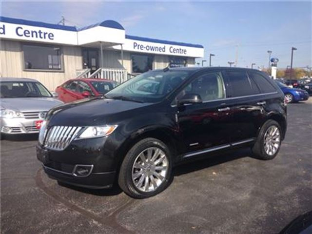 2012 LINCOLN MKX AWD in Burlington, Ontario