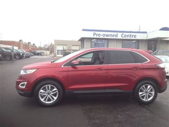 2015 ford edge sel awd burlington ontario used car for sale 2500342. Black Bedroom Furniture Sets. Home Design Ideas