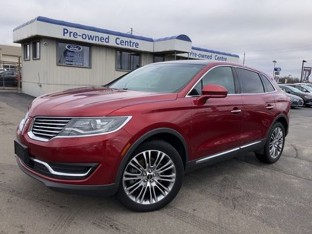 2016 LINCOLN MKX Reserve AWD in Burlington, Ontario