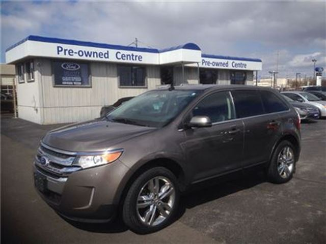 2013 ford edge limited awd dark green terrace ford lincoln. Black Bedroom Furniture Sets. Home Design Ideas