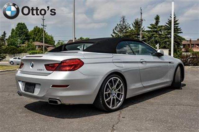 2012 Bmw 6 Series Cabriolet Ottawa Ontario Used Car For