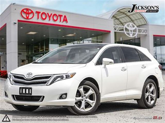 2014 toyota venza limited awd v6 toyota certified white jackson 39 s toyota. Black Bedroom Furniture Sets. Home Design Ideas