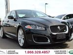 2012 Jaguar XF XFR - CPO 6yr/160000kms manufacturer warranty included until May 25, 2018! CPO rates starting at 0.9%! LOCAL CANADIAN CAR | NO ACCIDENTS | LEASEBACK | 510 HORSEPOWER | REAR SUNSHADE | BLUETOOTH | BLIND SPOT MONITOR | SUEDE HEAD LINER | NAVIGATION | B in Edmonton, Alberta