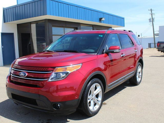 2013 FORD EXPLORER Limited 4WD 3.5L Dual Panel Moonroof Navigation in Vegreville, Alberta