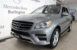2013 Mercedes-Benz M-Class ML350 BlueTEC 4MATIC in Burlington, Ontario