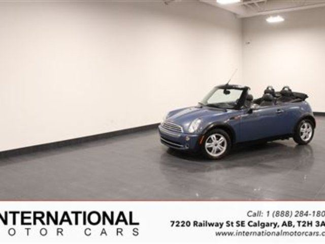 2005 MINI COOPER CONVERTIBLE! in Calgary, Alberta