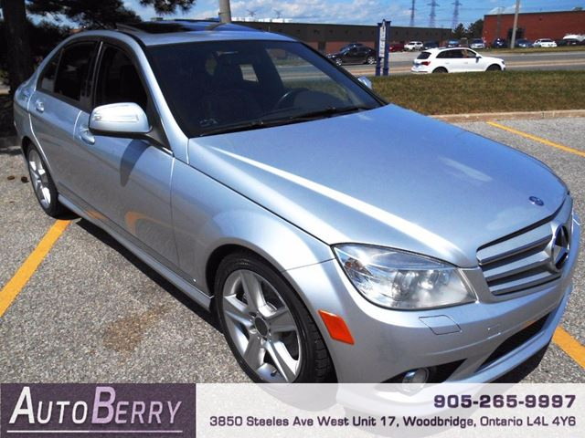 2009 mercedes benz c class c300 4matic silver auto berry. Black Bedroom Furniture Sets. Home Design Ideas