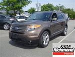 2015 Ford Explorer Limited! Balance Of The Factory Warranty! in Richmond, British Columbia