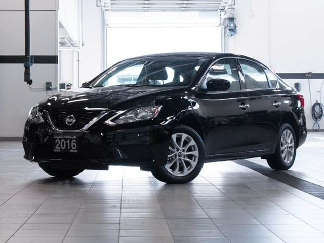 2016 nissan sentra 1 8 sv cvt black kelowna infiniti. Black Bedroom Furniture Sets. Home Design Ideas