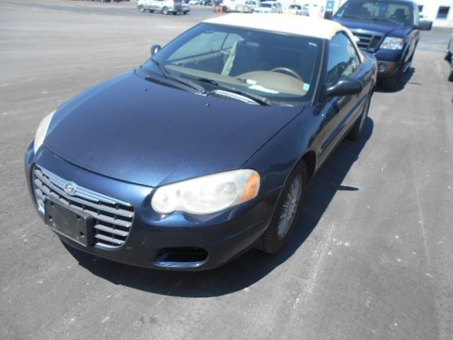 2004 chrysler sebring lx blue north toronto auction. Black Bedroom Furniture Sets. Home Design Ideas