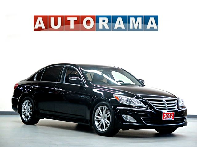 2012 hyundai genesis 3 8 tech pkg back up cam navi sunroof leather black autorama. Black Bedroom Furniture Sets. Home Design Ideas