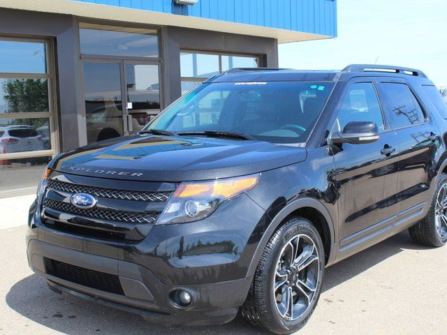 2015 FORD EXPLORER Sport 4WD 3.5L Ecoboost Navigation Moonroof in Vegreville, Alberta