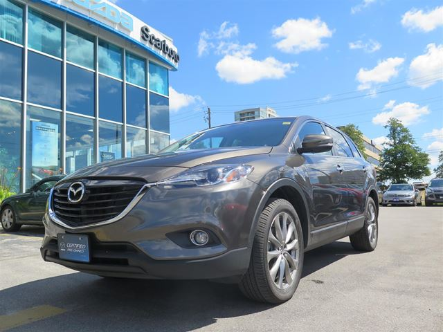 2015 mazda cx 9 gt awd finance at 0 9 toronto ontario used car for. Black Bedroom Furniture Sets. Home Design Ideas