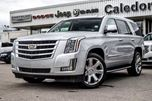 2016 Cadillac Escalade Luxury Collection 4X4 7 Seater Navi Backup Cam Bluetooth Vented Seat  Seat R-Start Chrome Wheels in Bolton, Ontario